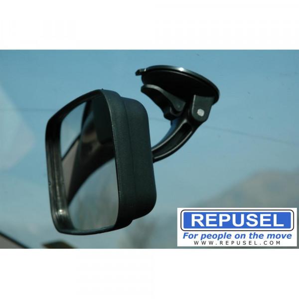Rücksitz Sicherheitsspiegel, zusätzlicher Spiegel, Repusel -mit Kraftsauger GROß