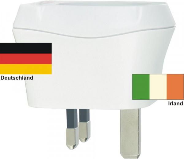 Reiseadapter Irland auf Deutschland Skross 1.500230 Reisestecker