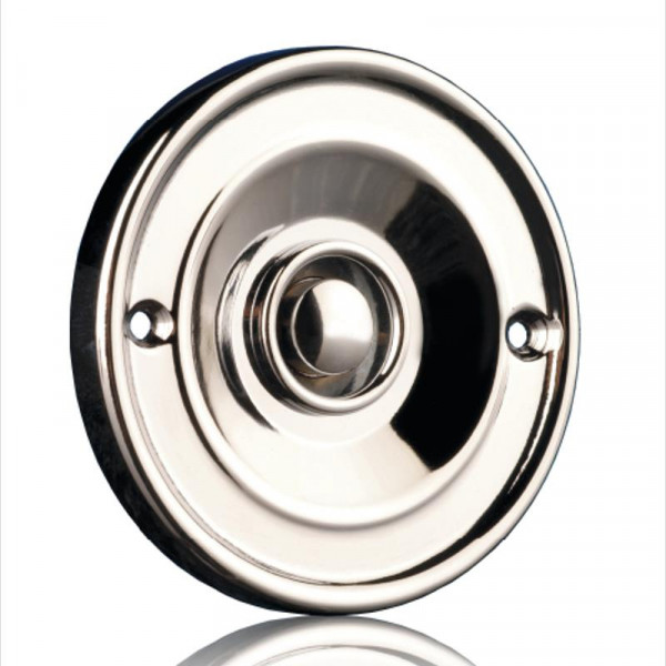 Unterputz-Klingelknopf aus Chrom Byron 10.008.05