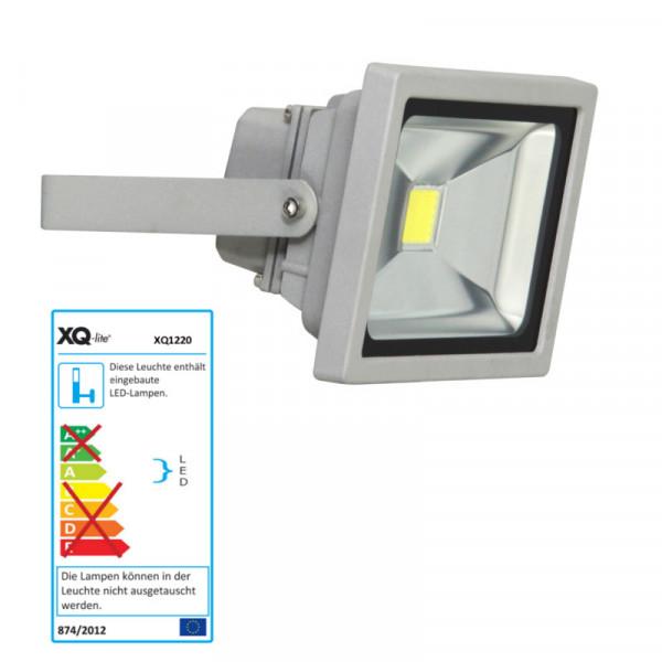 LED Fluter Ranex XQ1220 hell-grau