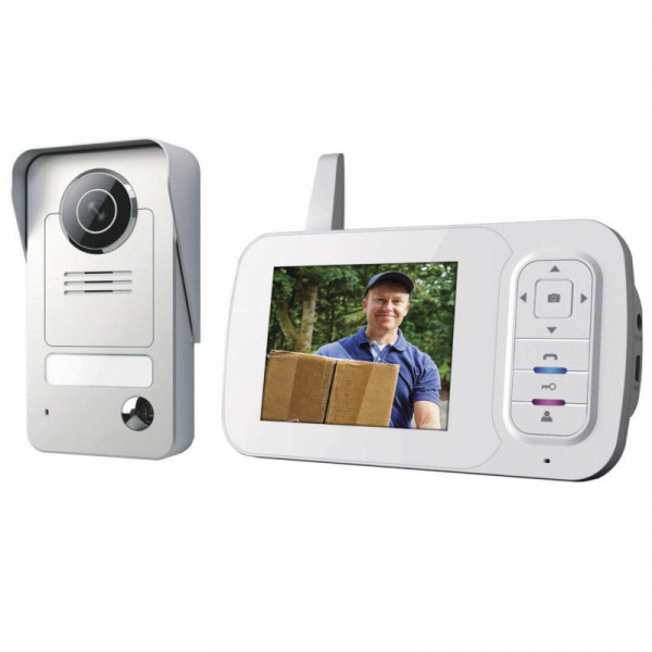 Smartwares Video-Türsprechanlage VD38W