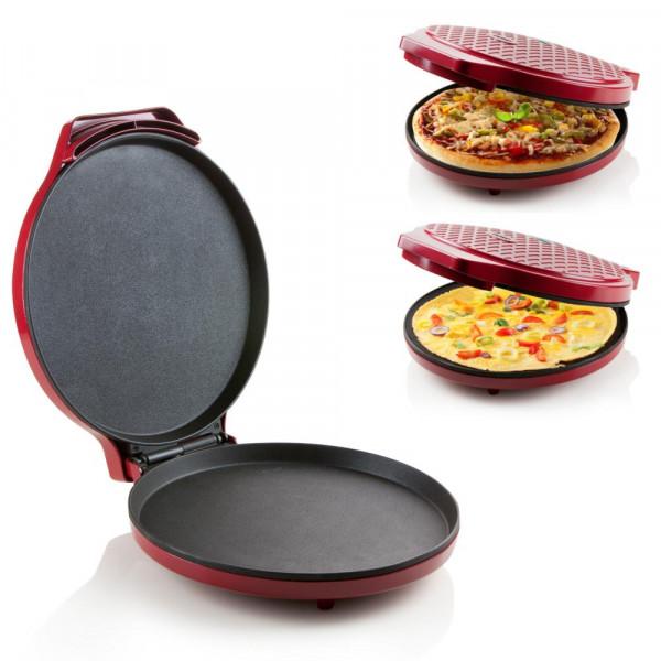 Express Pizzapfanne für Pizza, Quiche, Omlett- Zubereitung in nur 12 Minuten DO9177PZ