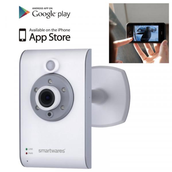 Smartwares IP-Camera C733IP mit Nachtsichtfunktion