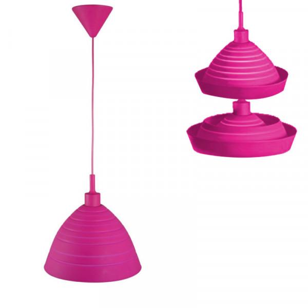 Hängeleuchte Silly Pink Ranex 6000.581 Silikonlampe pink