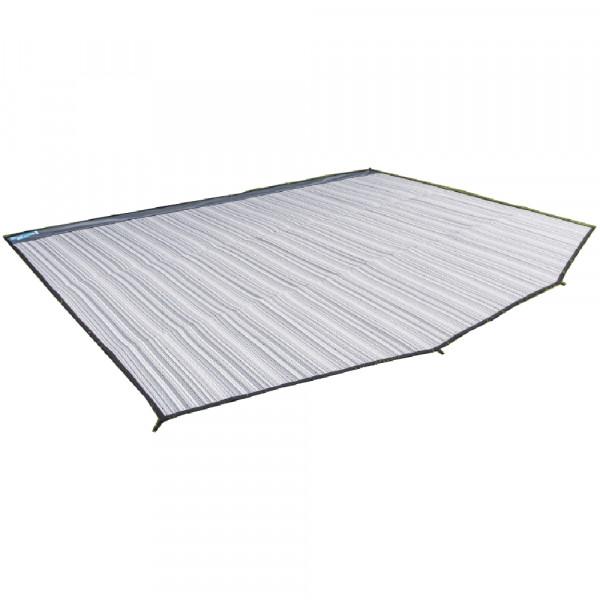 Vorzelt-Teppich 2,5 x 5 Meter = 12,5qm mit Ösen Kampa 111710 grau
