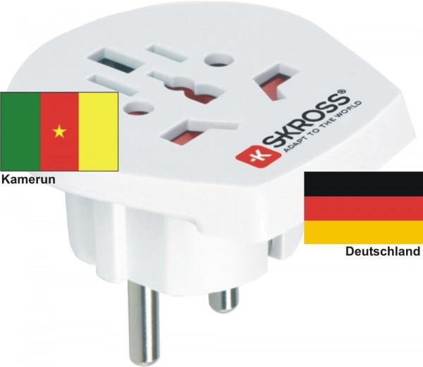 Reiseadapter Deutschland auf Kamerun - Skross 1.500211 Reisestecker