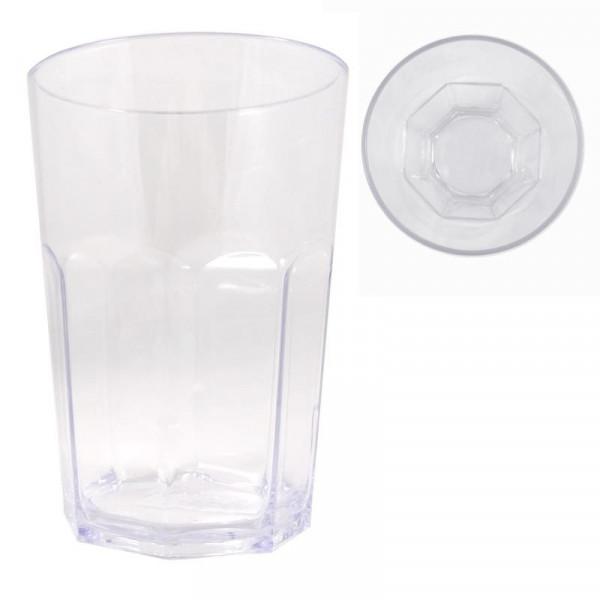 Robustes Caipirinha-Kuststoffglas 0,6 Liter, ideal auch Picknick-Geschirr, Kampa CW1043