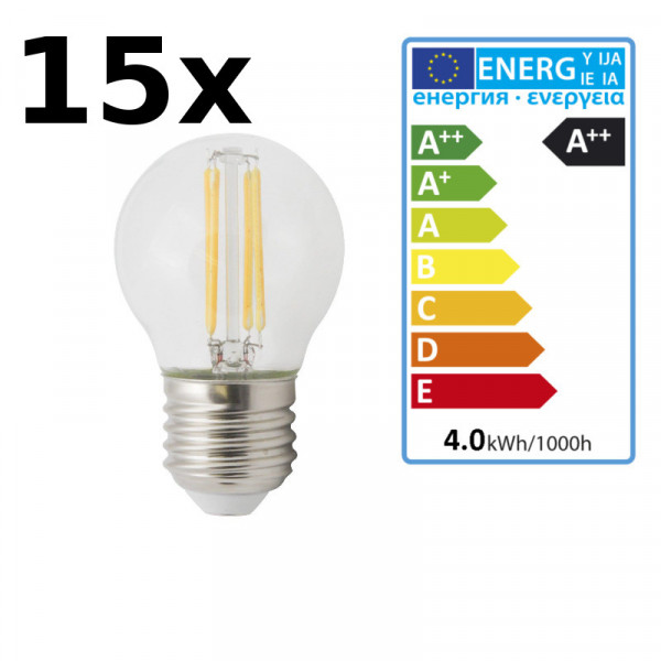 15x XQ-lite LED Leuchtmittel 2700K XQ1464 warmweiß
