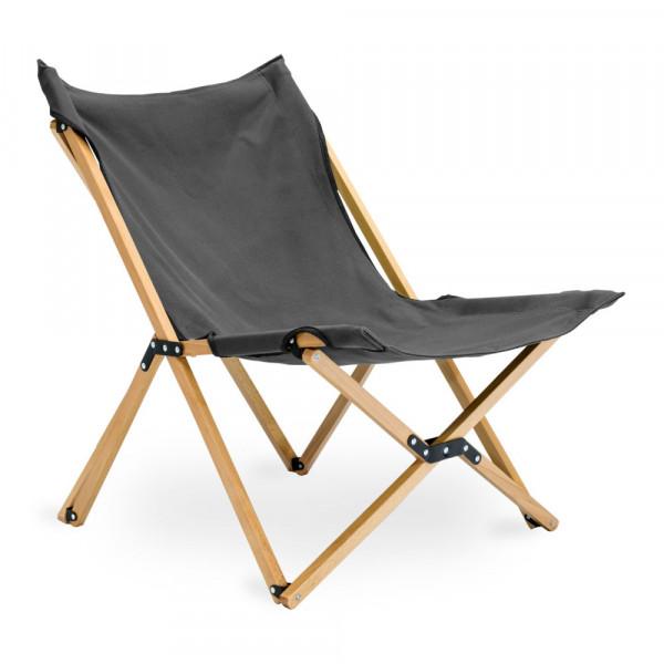 Lounge-Campingstuhl Roco Lounger mit Buchenholzgestell - 120 Kg Tragkraft edel + robust