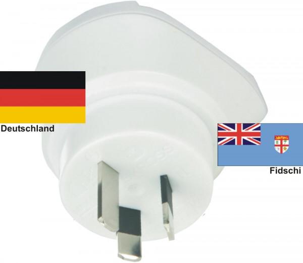 Reiseadapter Fidschi auf Deutschland - Skross 1.500209 Reisestecker