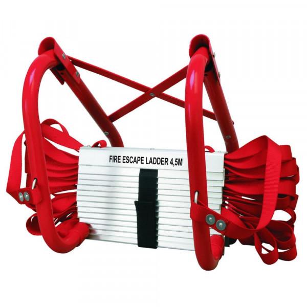 Feuerleiter 4,5 Meter BBVL Notfallleiter Smartwares 10.015.18