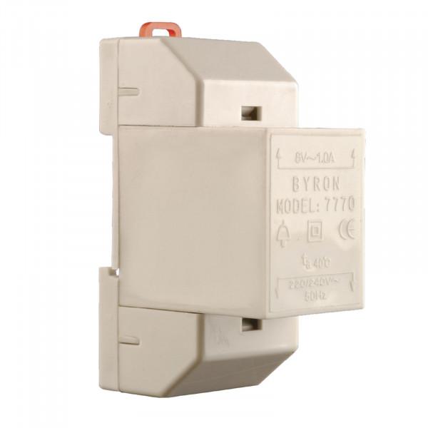 Klingeltransformator 8 V/1 A 7770 BYRON 00.640.99