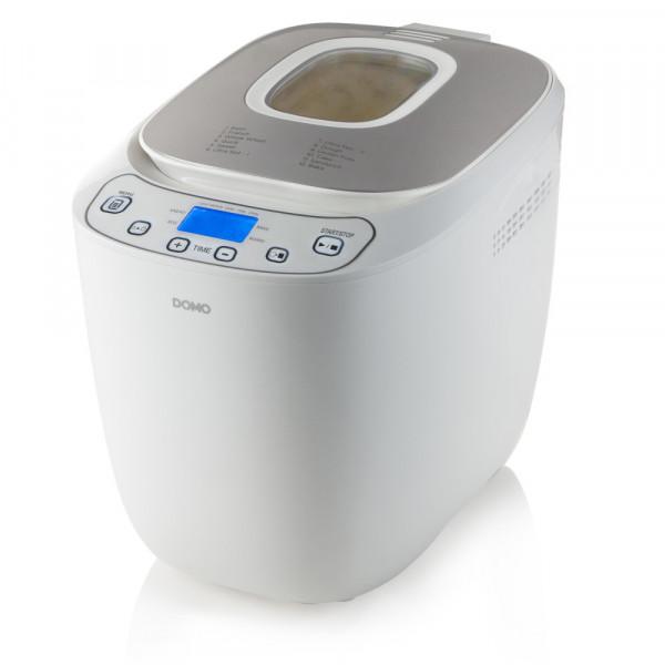 Brotbackautomat mit Timer 700 - 1000 Gramm Brot DOMO B3963 Farbe: weiß