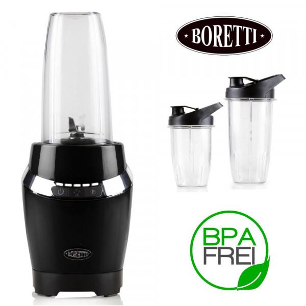 Design Power Mixer im exklusiven Boretti Design Personal Blender B210 schwarz