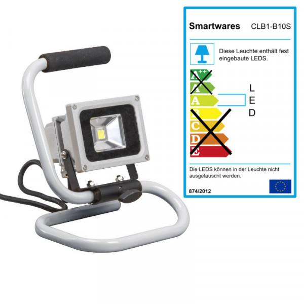 LED Scheinwerfer zum Hinstellen, Baustrahler Smartwares CLB1-B10S
