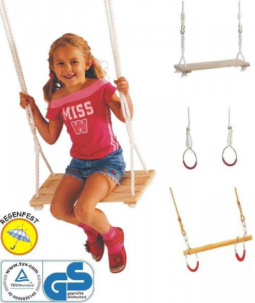 Turnschaukel-Set Happy People 73231 mit Ringen und Seil