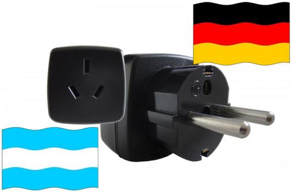 Reiseadapter Deutschland - Kompatibel mit Geräten aus Argentinien