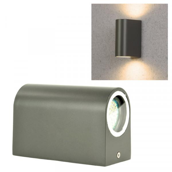 LED Wandleuchte aus Aluminium Gartenlampe 5000.331 10.010.51