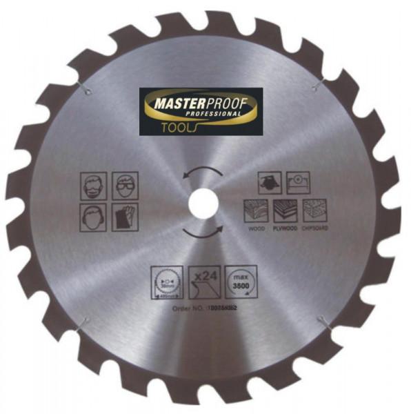 Kreissägeblatt 400mm, 24 Zähne, für Holzarbeiten