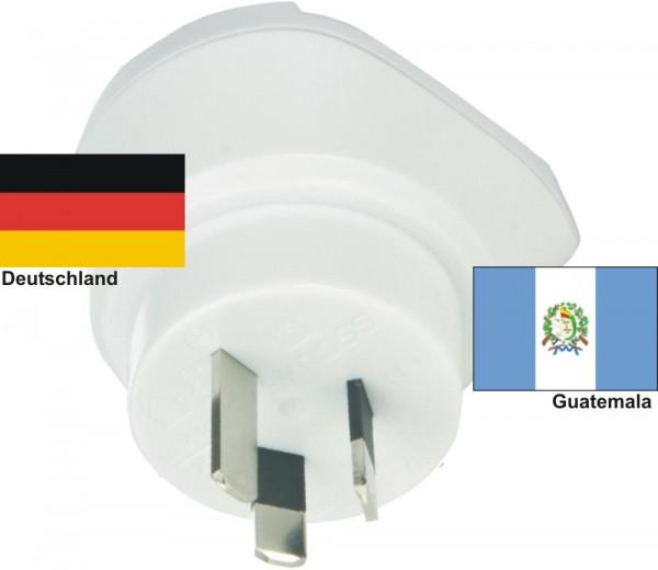 Reiseadapter Guatemala auf Deutschland - Skross 1.500209 Reisestecker