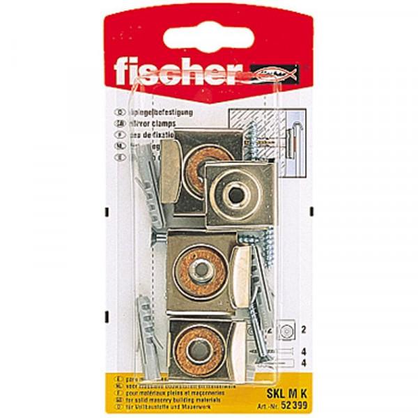 Fischer Paket-Spiegel-Befestigung SKL M K SB-Karte 52399 1 Set