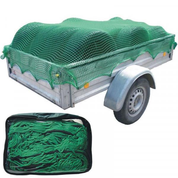 Anhängernetz 1,5 x 2,2 Meter Masterproof robustes Netz zur Ladungssicherung