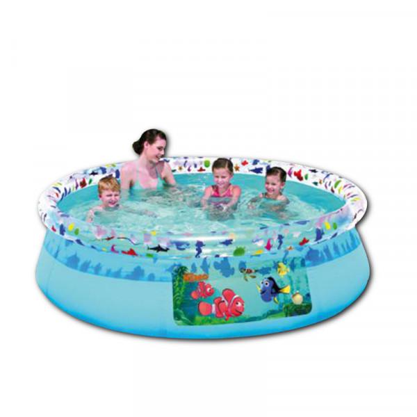 XL Kinderpool ca. 244 x 66cm Happy People 18534 Planschbecken Nemo