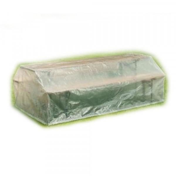 Regen-Schutzhaube für Bierzeltgarnitur Klappbänke + Tische 220x120x 75cm 79271
