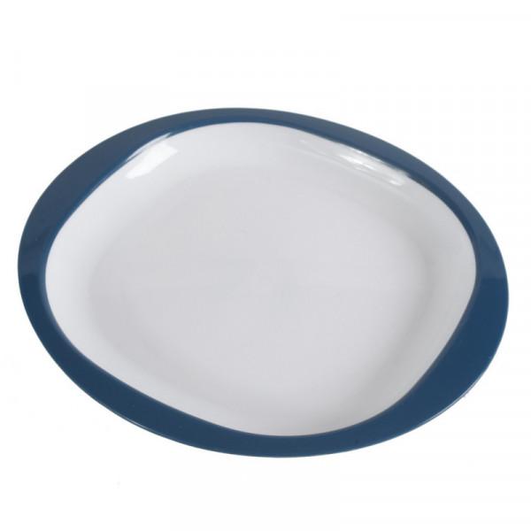 Picknick-Geschirr, Teller Ø 23cm blau Kampa CW1003