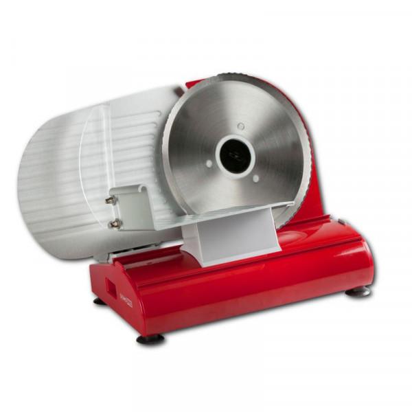 Vollmetall Allesschneider Domo DO522S Schneidemaschine rot