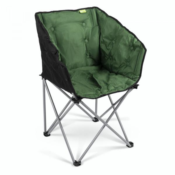 Gepolsterter Campingstuhl / Lounge-Sessel Kampa EXTREMER Komfort FT0051 grün