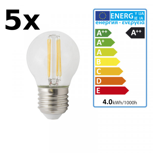 5Stück XQ-lite LED Leuchtmittel 2700K XQ1464 warmweiß