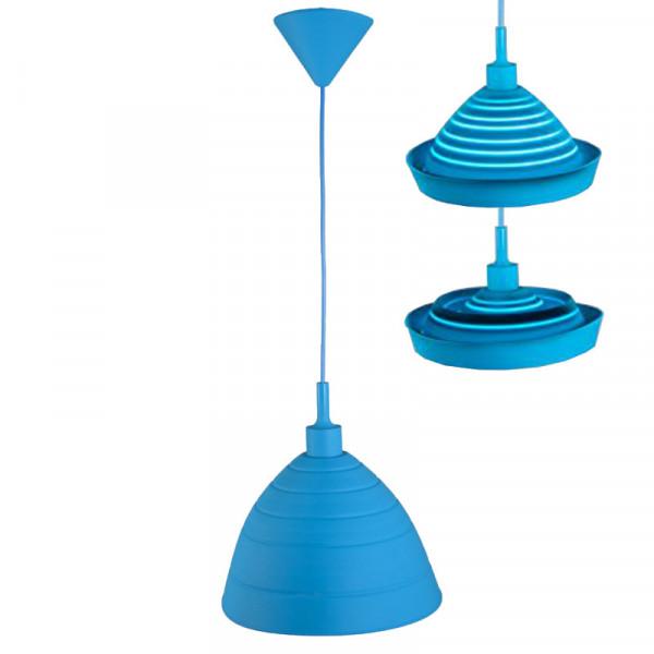 Hängeleuchte Silly blue Ranex 6000.580 Silikonlampe blau