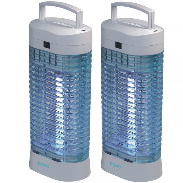 2er Set Insektenvernichter DOMO KX006N/1 Mückenfalle ohne Chemie