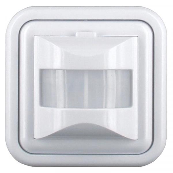 Unterputz Bewegungsmelder Smartwares ES46 weiß/grau Erkennungsdistanz ca.9 Meter
