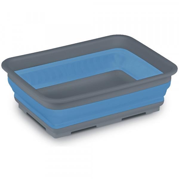 Faltbare Waschschüssel eckig - Kampa CW0114 37x27x12cm blau